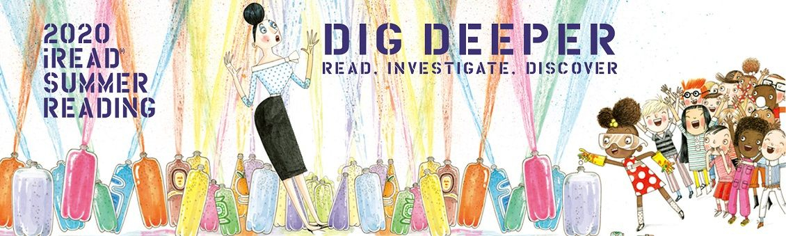 Dig Deeper for Littles: Summer Reading Program for 0-3